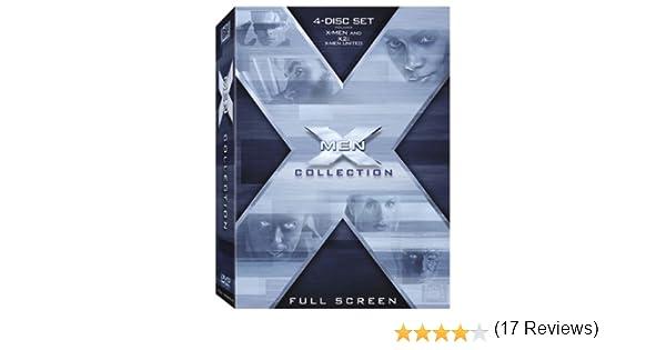 X Men Collection The 15 X2 United Full Screen 4 Discs Bilingual Import Amazonca Patrick Stewart Hugh Jackman Ian McKellen Halle