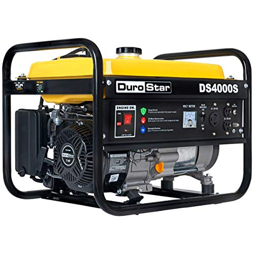 DuroStar DS4000S, 3300 Running Watts/4000 Starting Watts, Gas Powered Portable Generator (Best Portable Home Generator Reviews)