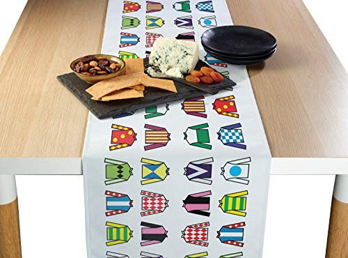 Fabric Textile Products Jockey Silks Table Runner 12