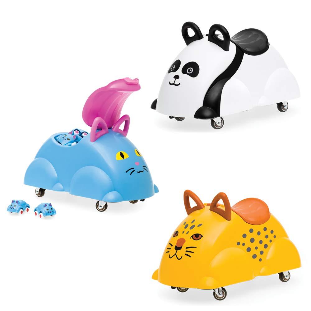 Cute Rider Panda Viking Toys
