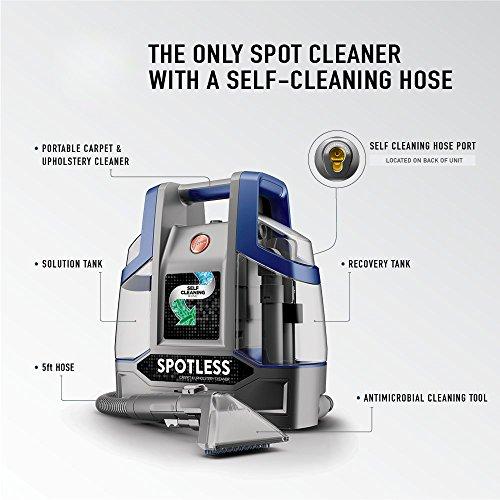 Hoover Carpet Cleaner, Blue Spotless Deluxe