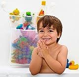LVieve Bath Toy Organizer toy storage bins Quick - Best Reviews Guide
