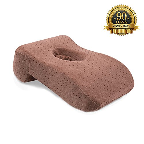 Catching a Quick 15-Minute Power Nap - Memory Foam Slow Rebound Pillow Travel Office Napping Pillow - Neck Support - Nap Pillow - Head Pillow - Perfect for Your Office - Websites Shopping Usa Online
