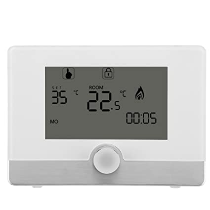 Amazon.com: Programmable Digital Room Thermostat for Wall-hung Gas ...