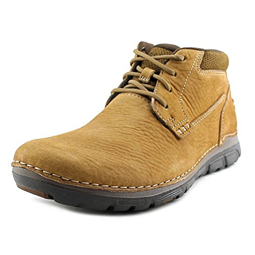 Rockport Men's RocSports Lite ZoneCush Plain Toe Boot Tan 8 M (D) - Rockport Man Boots