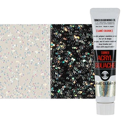 (Turner Colour Works Acryl Gouache Artist Acrylic Paint - Single 20 ml Tube - Lamé Clear Opal)