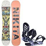 Nikita Kristall 143cm Womens Snowboard + Ride KS Bindings - Fits US Wms Boots Sized: 6,7,8