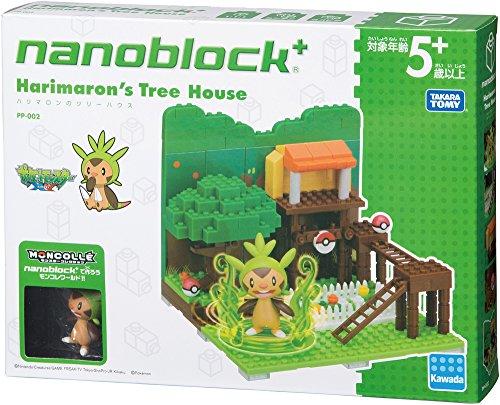 Tree House PP-002 nano-block plus Pokemon Harimaron by Kawada