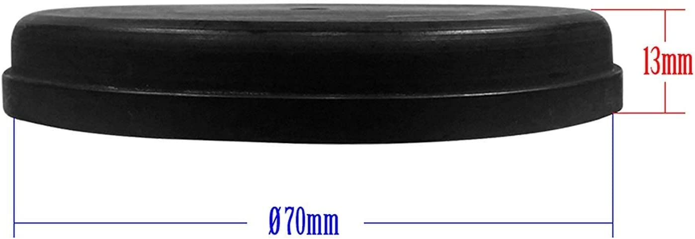 Universal Staubschutz Deckel Abdeckung Kappe Deckel Für Scheinwerfer 70mm Auto