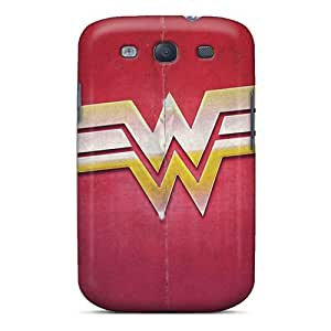Zheng caseFashion Protective Wonder Woman Sign Desktop High Definition Case Cover For Galaxy S3