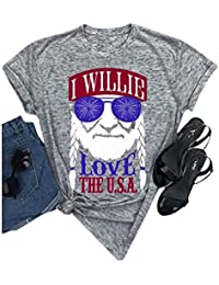 f2eca769 Women I Willie Love The USA & Have A Willie Nice Day Short Sleeve T-
