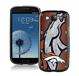 New Unique And Popular Samsung Galaxy S3 I9300 Case Designed With Denver Broncos 04 Black Samsung S3 Cover