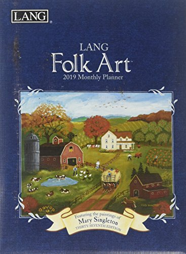 Lang Folk Art 2019 Monthly Pocket Planner