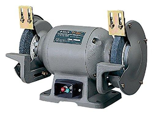 日立工機 卓上電気グラインダー 砥石外径150mm アルミナ AC100V 365W 単相 GT15SH(1P) B003B3DN84