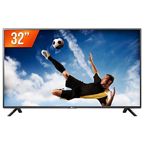 LG TV LED 32´´, HD (1366 X 768), Modo Corporate / Hotel, HDMI, USB, 9MS, Cinza e Preto.