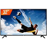 LG TV LED 32´´, HD (1366 X 768), Modo Corporate / Hotel, HDMI, USB, 9MS, Cinza e Preto.