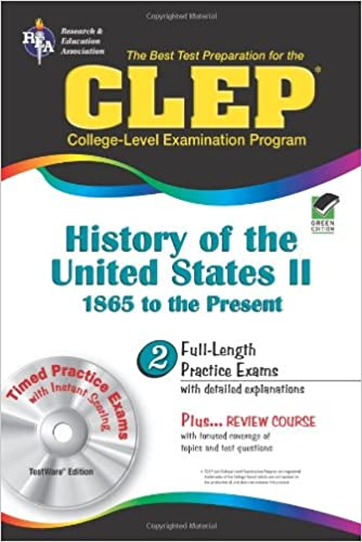 Counting Number worksheets free us history worksheets : CLEP History of the United States II w/CD (REA) - The Best Test ...