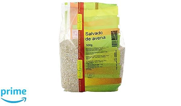 Biospirit Salvado de Avena Bio - 500 gr: Amazon.es: Alimentación y bebidas