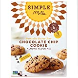 Simple Mills Chocolate Chip Cookie Mix, 8.4 Ounce