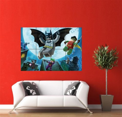 LEGO Batman Giant Wall Poster Picture