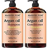 #7: Majestic Pure Argan Oil Hair Shampoo and Conditioner, Pure and Natural for All Hair Types