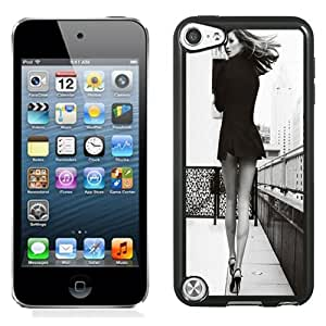 Fashion DIY Custom Designed iPod Touch 5th Generation Phone Case For Fashion Girl Bottomless Black and White Phone Case Cover