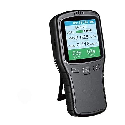 Monitor de calidad del aire, detector de formaldehído DAMPOT, detección y prueba de contaminación