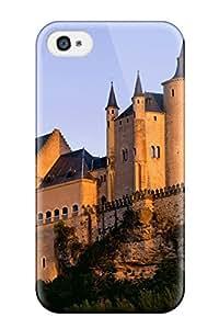 New Arrival Alcazar Castle Segovia Nature Other VEk-7256jWGmIsKP Case Cover/ 4/4s Iphone Case