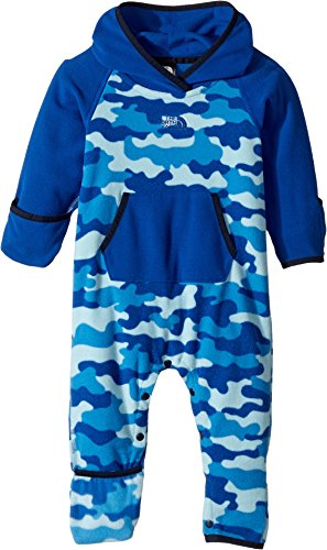 Price comparison product image The North Face Infant Glacier Full Zip Hoodie Sky Blue Classic Camo (24 Month) (Past Season)