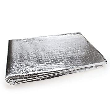 Autotrends Universal Car Damping Heat And Sound Insulation Sheet Suitable For Under Hood And Door For Maruti Swift