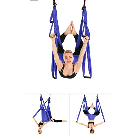 Amazon.com : Aerial Yoga Hammock Hammock, 6 Handle No ...
