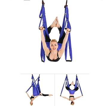 Amazon.com: Hamaca de yoga para antena, 6 manijas, no ...
