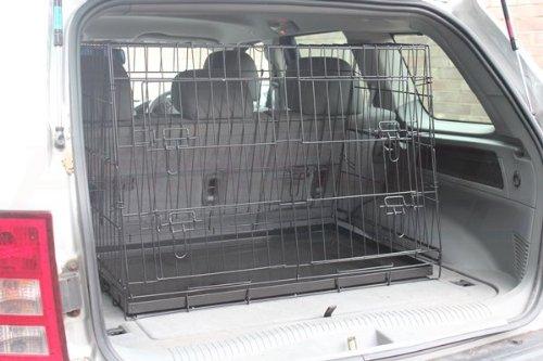 Hardcastle Folding Metal Car Boot Pet Dog Cage 6