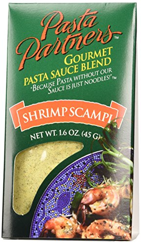 Pasta Partners Gourmet Pasta Sauce Mix, Shrimp Scampi, 1.6 Ounce - Garlic Shrimp Scampi