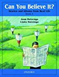 Can You Believe It? Stories and Idioms from Real Life, Book 3 by Jann Huizenga Linda Huizenga(2000-07-20)