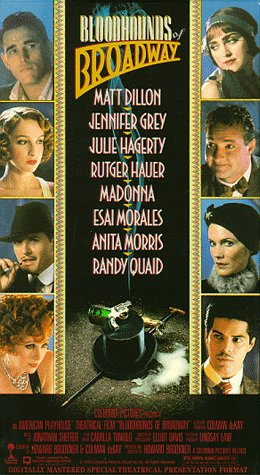 Bloodhounds of Broadway [VHS]
