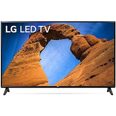 "LG 43"" Black 1080P HDR Smart LED HDTV (Renewed)"