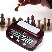 BeautyGal Professional Digital Chess Clock Count Up Down Timer Competition Game Set
