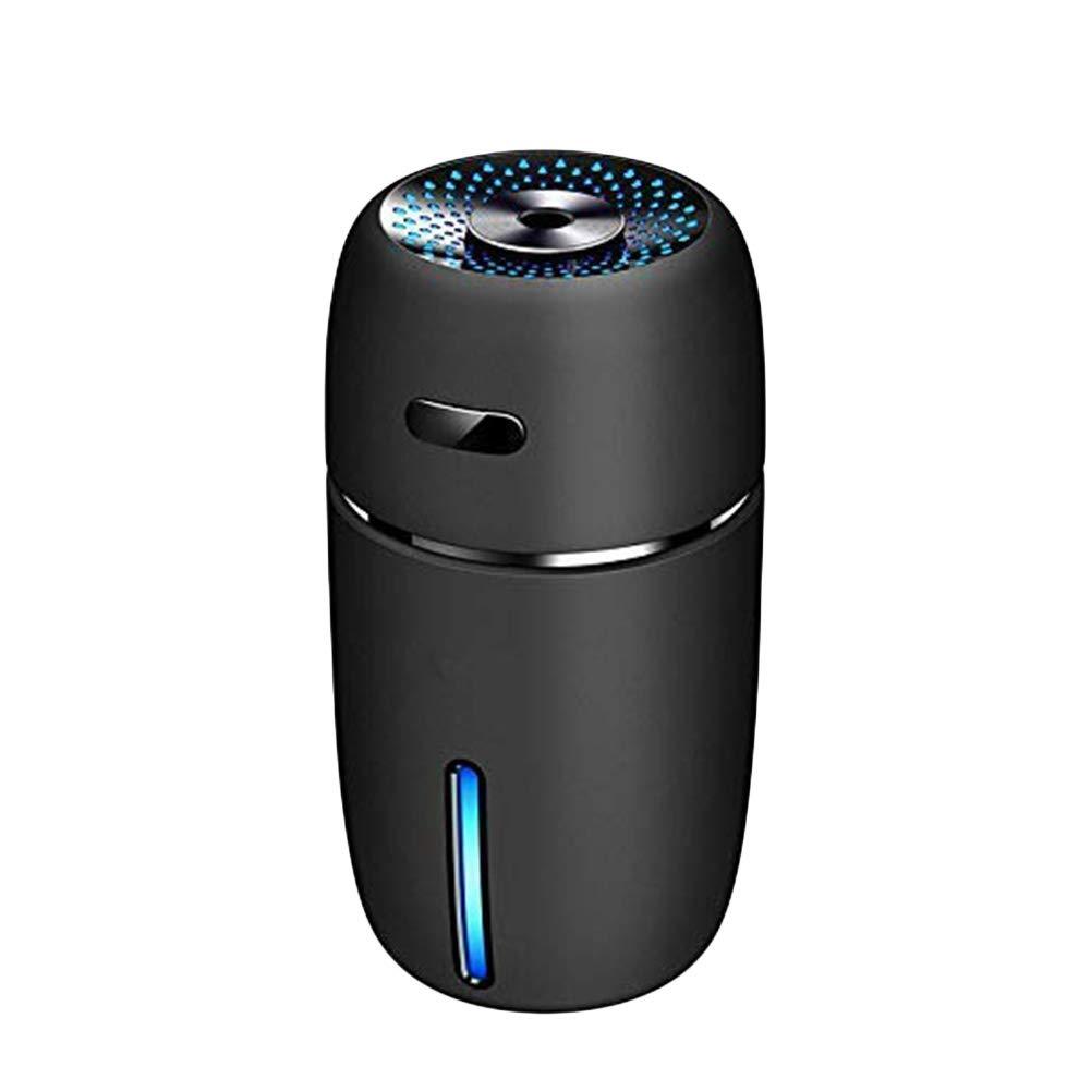 Apagado Autom/ático Humidificador Silencioso para Habitaci/ón De Ni/ños Kenyaw Mini Humidificador Ultras/ónico Humidificadores USB De 200 Ml con Luces Led De 7 Colores