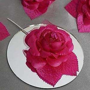 Mikash 36 pcs Craft Silk Roses Flowers - Wedding Favors Decorations Discounted Supplies | Model WDDNGDCRTN - 7059 | 64
