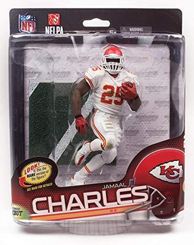super popular 3b5fc 62e11 Amazon.com: NFL Kansas City Chiefs Series 34 Figure: Jamaal ...