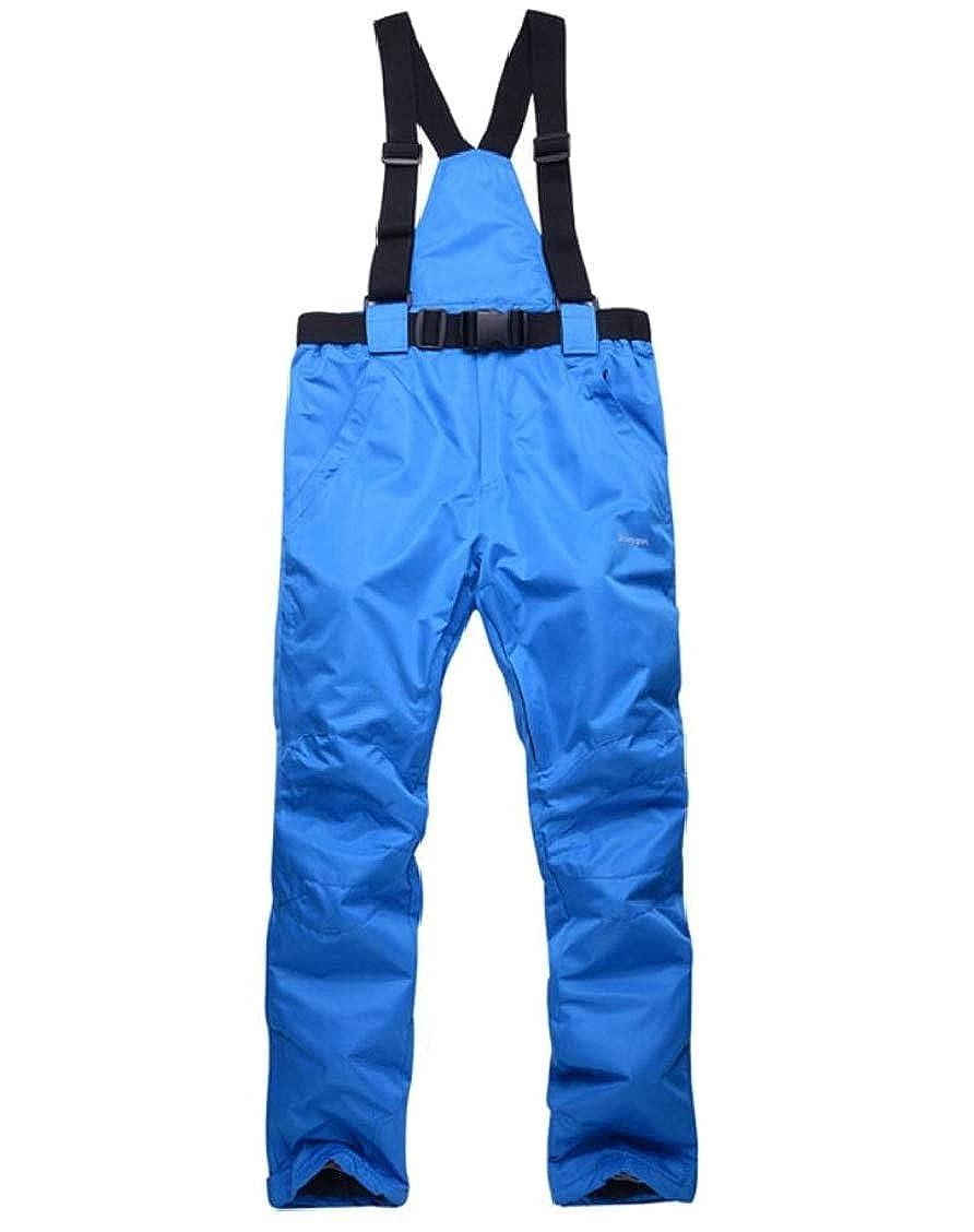 5 XQS Women's Active Thicken Outdoor Waterproof Softshell Fleece Snow Pants