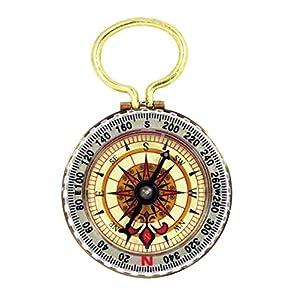 SE CC50B Glow in the Dark Brass Compass