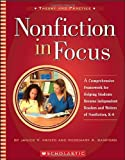 img - for Nonfiction In Focus by Jancie Kristo (2004-05-01) book / textbook / text book