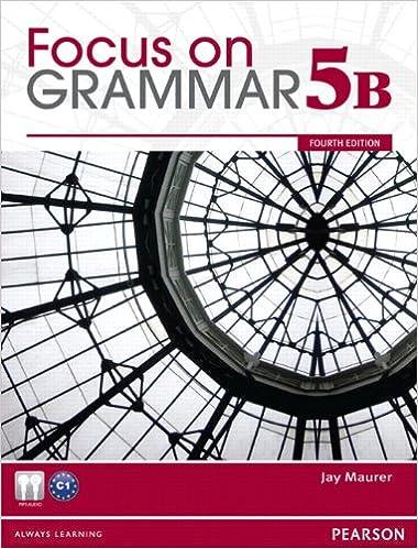 Focus on grammar student book split 5b jay maurer 9780132169837 focus on grammar student book split 5b 4th edition fandeluxe Image collections
