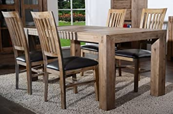 Perfekt Esstisch 180cm Hamburg Massiv Holz Moebel Akazie Esszimmer Tisch Küchentisch