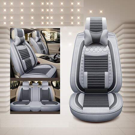 Seat Cover Luxury Special Flax (Front & Back) Car Seat Covers for Mazda 3 6 Cx-5 Cx7 323 626 M2 M3 M6 Axela Familia Auto Accessories