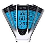 Digital Blue LED light Sensor, Hygrometer, Temperature, Humidity Meter, Clock, Calendar, Alarm, Hydroponics.