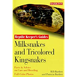 Milksnakes and Tricolored Kingsnakes (Reptile and Amphibian Keeper's Guide)