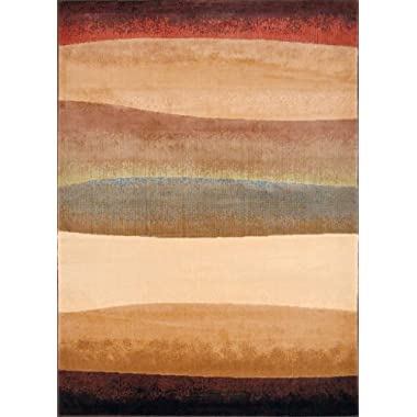 Home Dynamix HD2966-999 Catalina Collection Area Rug, 5-Feet 3-Inch by 7-Feet 2-Inch, Multicolored